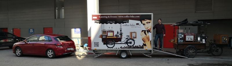 Cafe Bike Bogensportmesse Wels