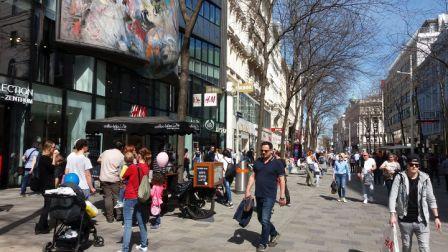Kaffeewagen Mariahilfer Straße Sommer