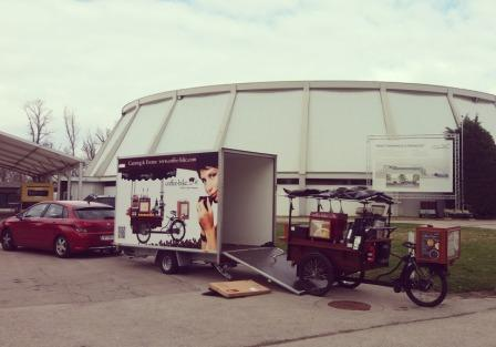 Coffee Bike Messe Tulln Donauhalle