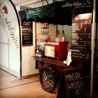 Cafe to go Coffee Bike Linzer Frühling