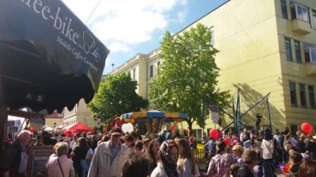 Cafe to go Grätzlfest Ober St. Veit