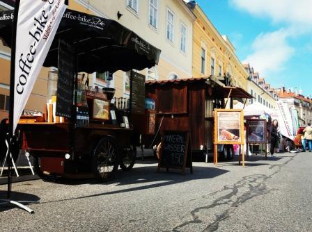Coffee Bike Standorte am Ober St. Veiter Grätzlfest